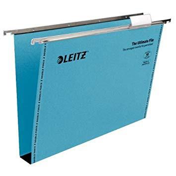 Leitz Ultimate Blue Suspension File F/CAP 30mm Capacity Box 50