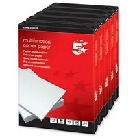 5 Star 80g A4 Copy Paper Ream 500 Sheets
