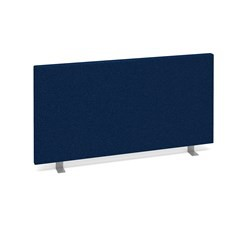 CALEY Blue 800w  x 400h Straight Desk Top Screen.