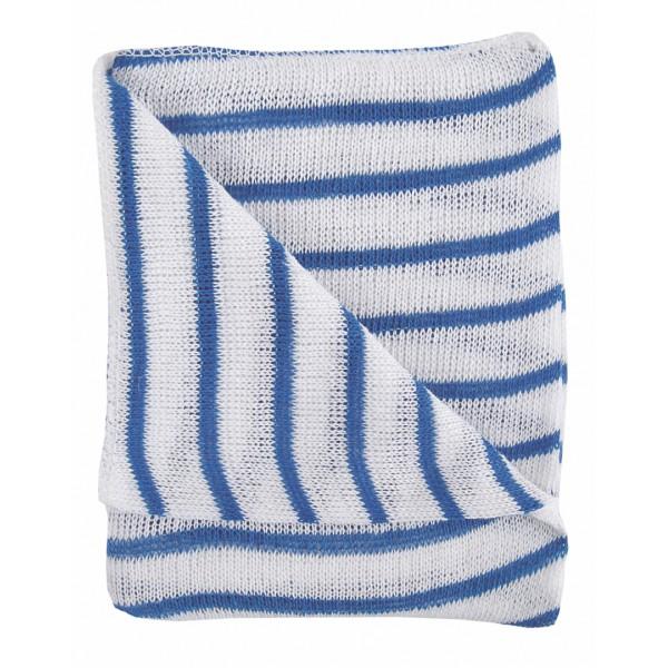 DISH CLOTHS 10PK COLOUR CODED BLUE