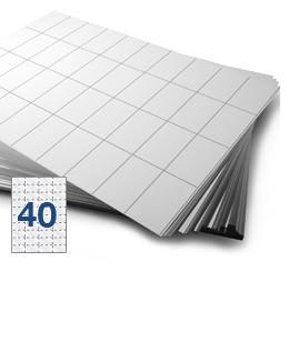 Self Adhesive LL40 Labels Pk500