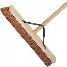 Wooden Broom Complete Soft 36