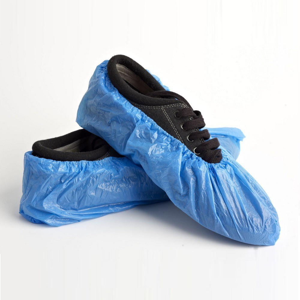 Overshoes Covers Disposable Blue 14