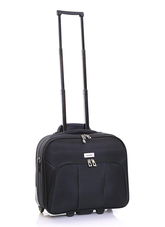 Karabar Minto Wheeled Laptop Case Black