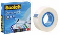 3M Scotch 811 Magic Tape 19mm x33 Metres Removable 8111933