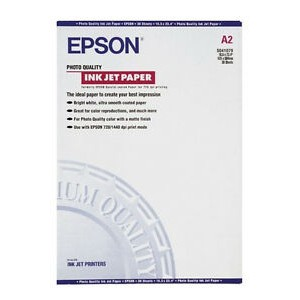 Epson A2 Photo Quality Inkjet Paper Pk30