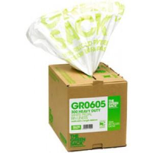 The Green Sack Pedal Bin Liner in Dispenser White (Pack of 300) VHPGR0605