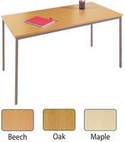 Jemini Rectangular Table 1600x800mm Maple