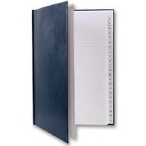 Q-Connect A4 Manuscript Book A-Z Index