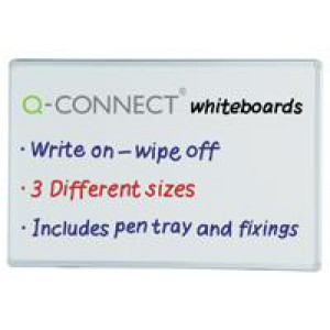 *Q Connect Drywipe Whiteboard 1800mm x 1200mm KF37017 (DW8245X) (296999) (550118)