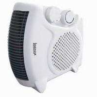 Image for Fan Heater Flat 2kW White