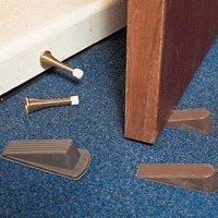 Door Wedge Heavy Duty Brown 9133
