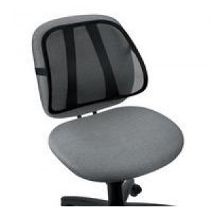 Fellowes Mesh Back Support for Operators Chair Black 8036501