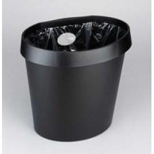 Avery Waste Bin 18 Litre Black DR500