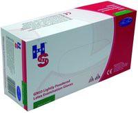 Handsafe Polypropylene Latex Gloves Small Pack of 100 Natural GN03