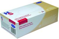 Handsafe Polypropylene Vinyl Gloves Small Pack of 100 Clear GN52