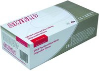 Shield Polypropylene Nitrile Gloves Blue Small Pack of 100 GD20