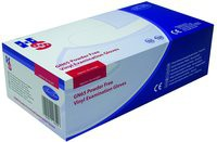 Handsafe Powder-Free Vinyl Gloves Medium Pack of 100 Clear GN65