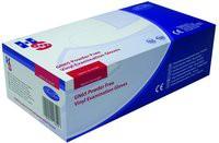 Handsafe Powder-Free Vinyl Gloves Large Pack of 100 Clear GN65