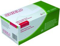 Shield Powder-Free Latex Gloves Medium Pack of 100 GD05 (082810)