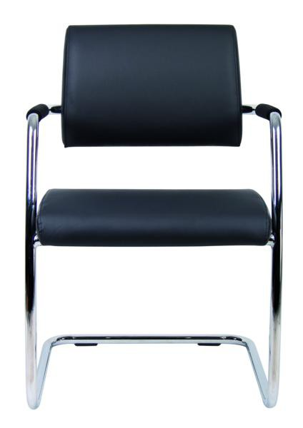 BRUGE SOFT LEATHER CONFERENCE CHAIRS  THE BRUGE IS A GREAT EVERYDAY LEATHER FACED CONFERENCE