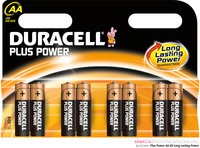 Duracell Plus Battery AA Pack of 8 81275377 (206762)