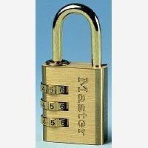 Masterlock Combination Padlock Brass 30mm 630EURD