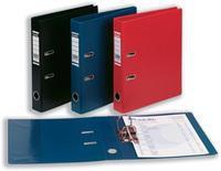 Bantex Lever Arch File PVC A4 Blue 50mm 1451-01