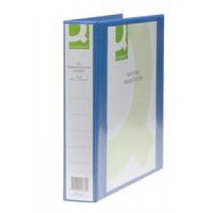 *Q Connect Presentation 4D-Ring Binder 40mm A4 Blue KF01331 (933058)