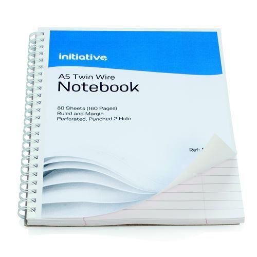 Initiative Twinwire Notebook A5+ 160pg