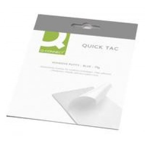 *Q Connect Quick Tac Adhesive Putty 70gm KF04590 (blue tack equivalent) (930708)B2S010