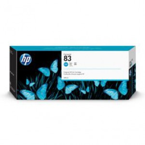 HP 83 Cyan UV Inkjet Cartridge C4941A
