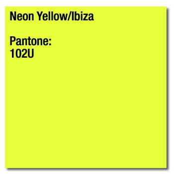 Coloraction Tinted Paper Neon Yellow (Ibiza) FSC4 A4 210X297mm 80Gm2 Pack 500
