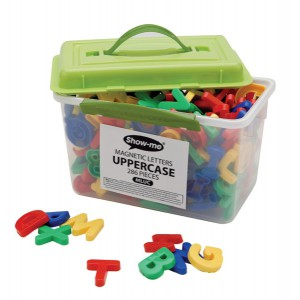 UPPERCASE MAGNETIC LETTERS MLUC