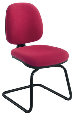 ZOOM VISITOR CHAIRS  POPULAR VISITOR CHAIRS WITH ARM AND COLOUR OPTIONS