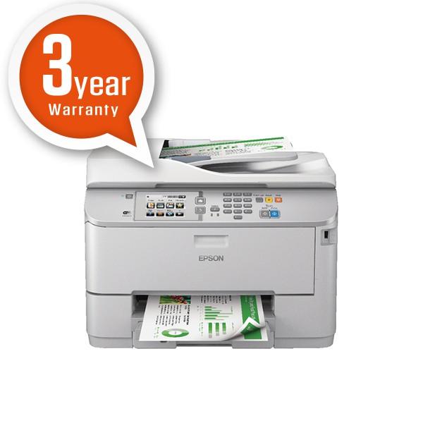 Epson Grey WorkForce Pro WF-5620DWF 4-in-1 Colour Inkjet Printer C11CD08301BY