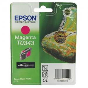 Epson Stylus Photo 2100 Inkjet Cartridge Magenta 17ml C13T034340