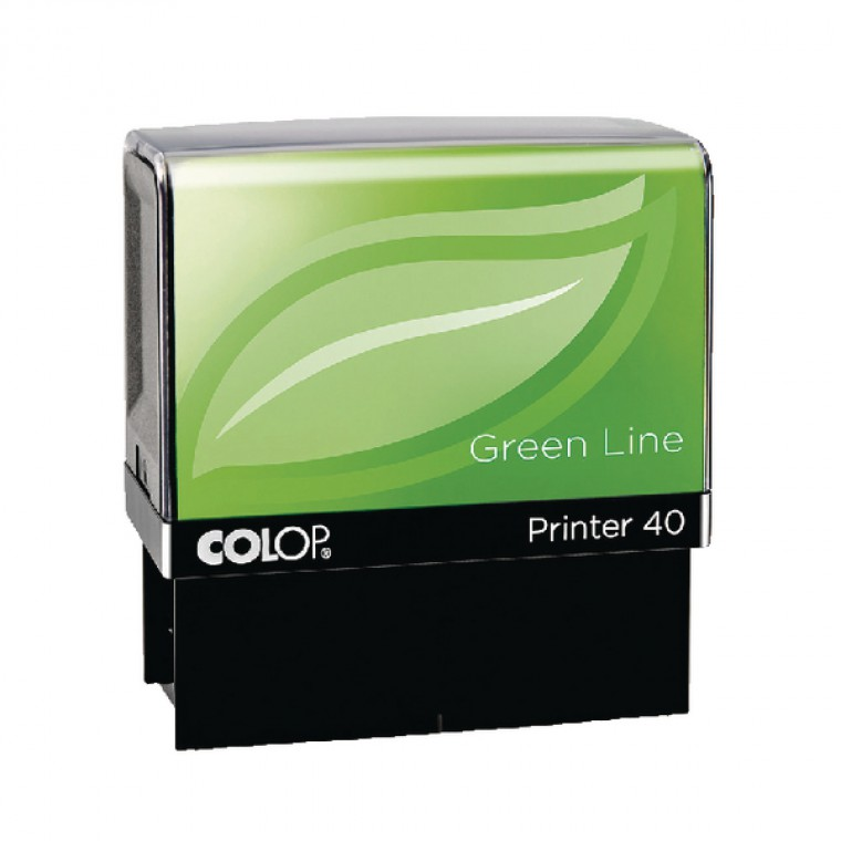 Colop Printer 40 Green Line ID Stamp