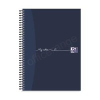 Image for  Oxford MyNotes Notebook Wirebound Feint & Margin 90gsm A4 Ref 100082373 [Pack 3] [2 For 1] May 2018