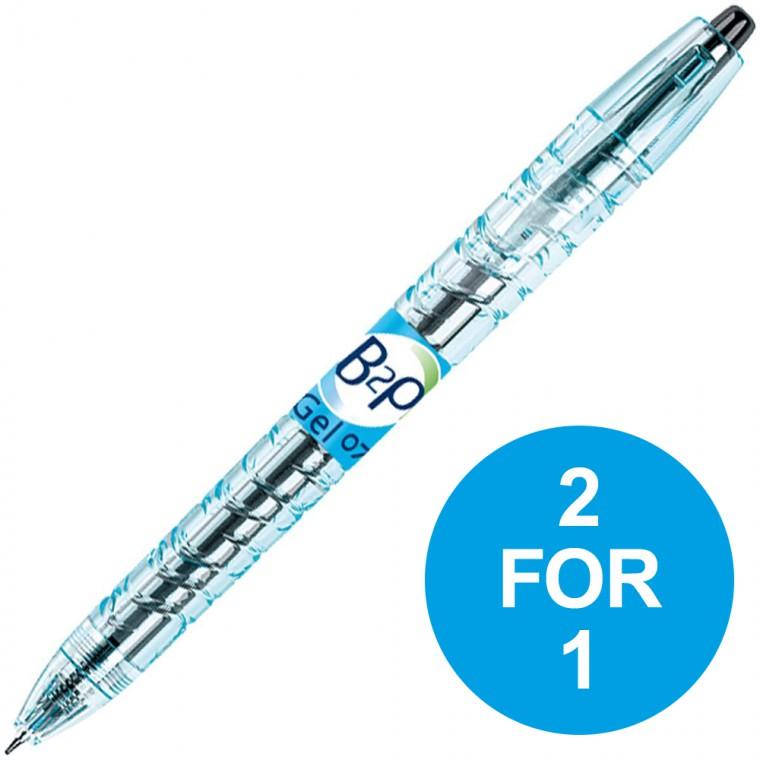 Pilot Begreen B2P Retractable Rollerball Blk Pens  Buy 1 get 1 Pack Free