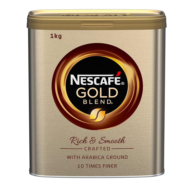 Nescafe Gold Blend Coffee 1kg Tin