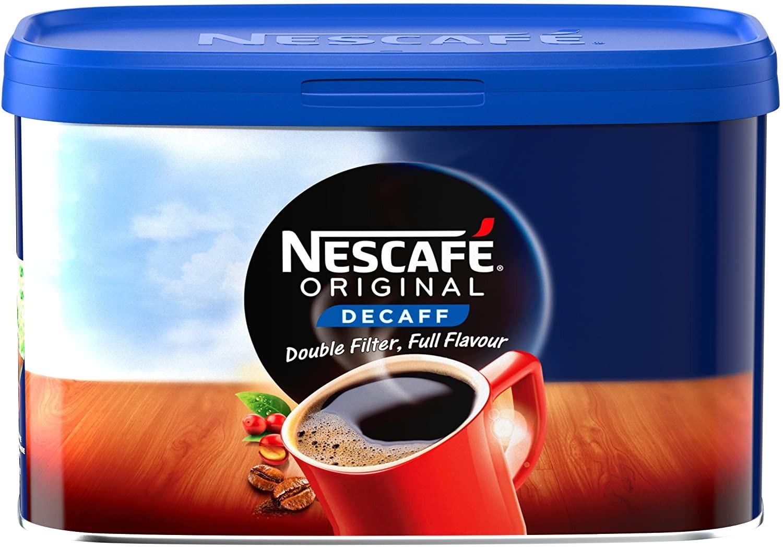 Nescafe Original Decaffeinated Coffee Granules 500g