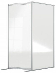 Nobo Premium Acrylic Protective Divder Screen Modular System 800x1800mm