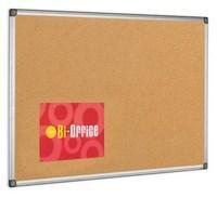 Bi-Office Cork Board 600x900mm Aluminium Frame CA031170