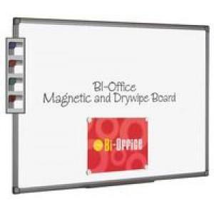 Bi-Office Magnetic Whiteboard 600x900mm Aluminium Finish MB0706186
