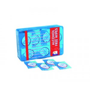 Wallace Cameron Alcohol-Free Wipes Pack of 100 1602023