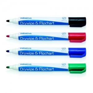 Initiative Drywipe/Fcht Marker Ast 4s