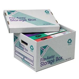 Initiative File-Away Storage Box