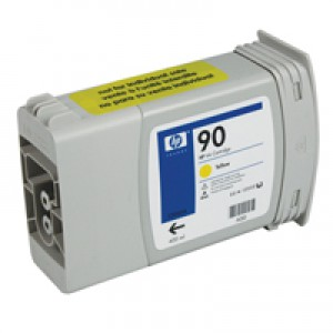 HP 90 Yellow Inkjet Cartridge C5085A