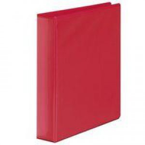 White Box Presentation 4D-Ring Binder Red 50mm